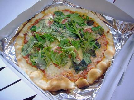持ち帰りピザ