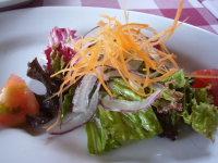 ラペントラッチャのサラダ