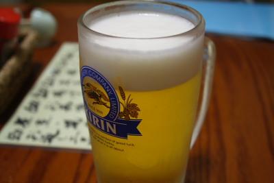 とりあえずビール