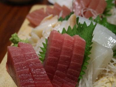 魚武のお刺身