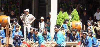 金谷山太鼓20070724
