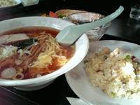 吉田での私の昼食