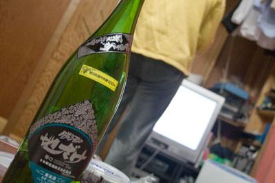 1升瓶の白ワイン