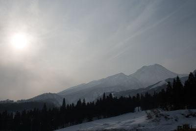 <br /> 冬の妙高山