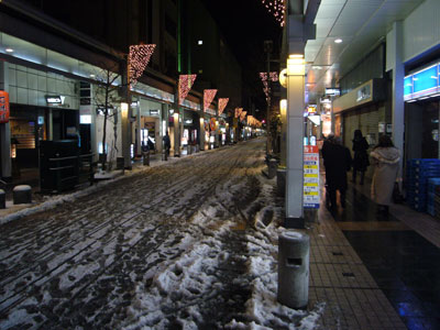 新潟市の繁華街