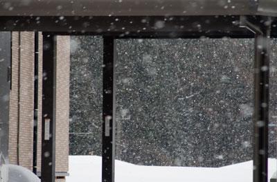 上越の降雪