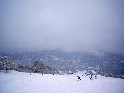 爽快なスキー