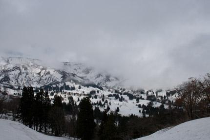 日本有数の豪雪地の景色