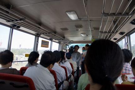佐久市内観光周遊バス