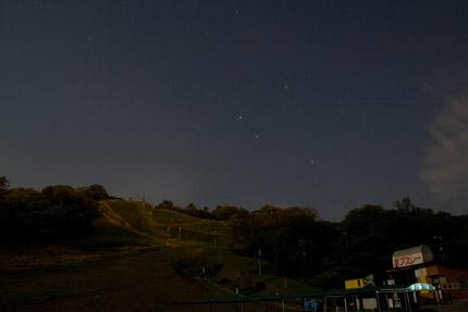 金谷山の夜景
