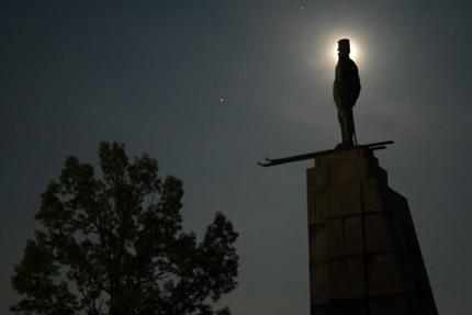 レルヒ少佐も月に輝いて