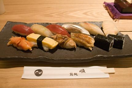 丸ビル近くのお寿司屋さん