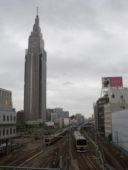 新宿に移動