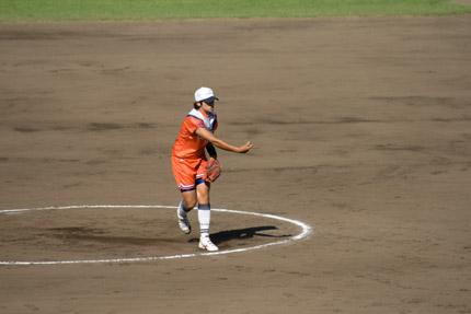 上野由岐子投手投球フォーム10
