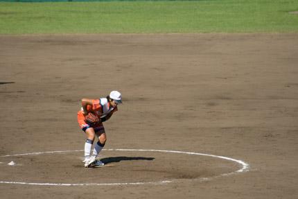 上野由岐子投手投球フォーム2