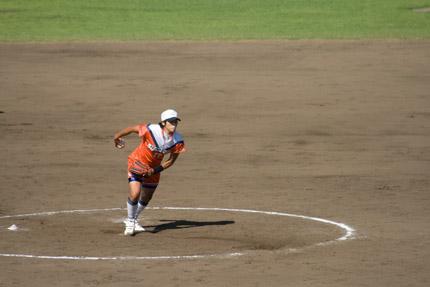 上野由岐子投手投球フォーム3