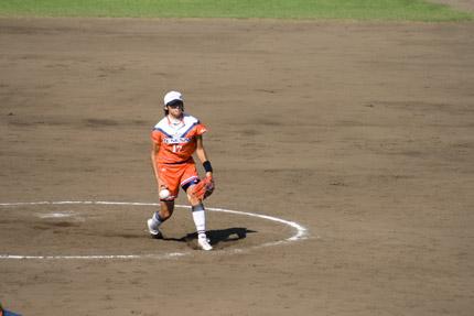 上野由岐子投手投球フォーム8