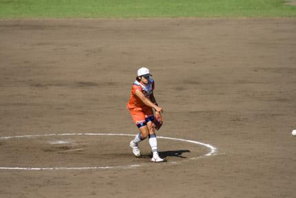 上野由岐子投手投球フォーム9