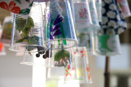 プラスチックコップのパレード