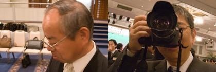 上野電子(株)上野社長さん  印刷本舗八ヶ岳の青い月2さん