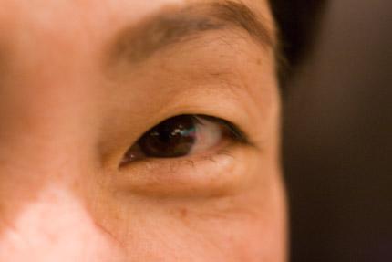 ジョイクックおくだjoyokudaさんのつぶらな瞳