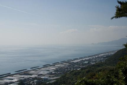 久能山から望む太平洋