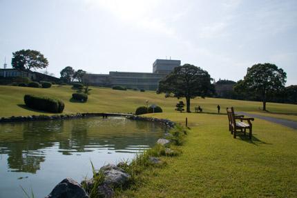 日本平ホテルの庭園