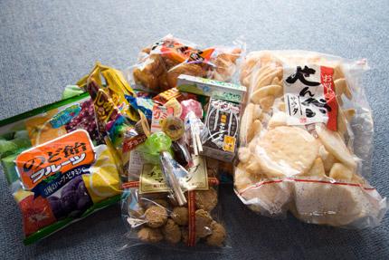 天野屋繁田商店さんのお菓子