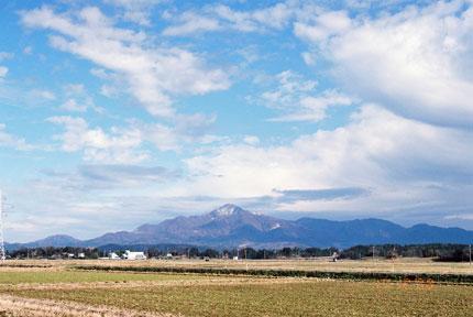 久比岐平野からの米山