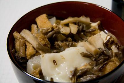 新潟県上越市大潟区で食べる我が家の雑煮