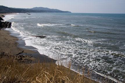 お天気が続く日本海