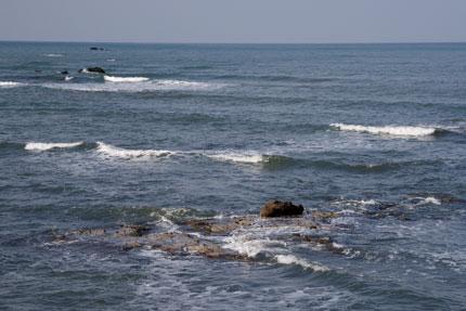 春の日本海のよう