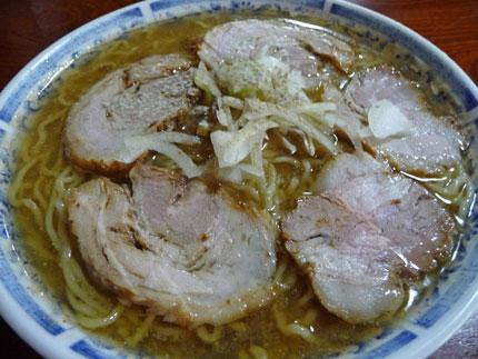 チャーシュー麺普通盛り