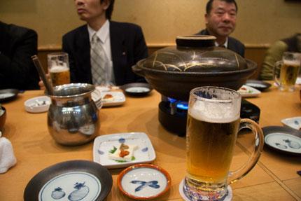 高田駅内の居酒屋