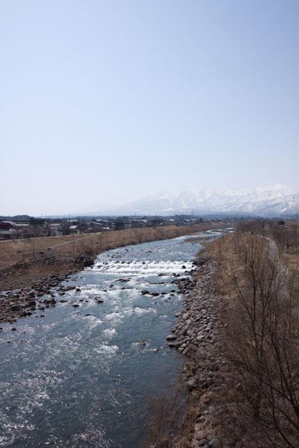 春霞の妙高山