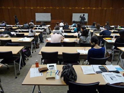 資格試験に向けて自主研修