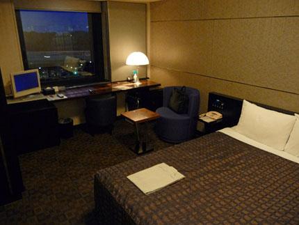 綺麗でベッドの良いビジネスホテル