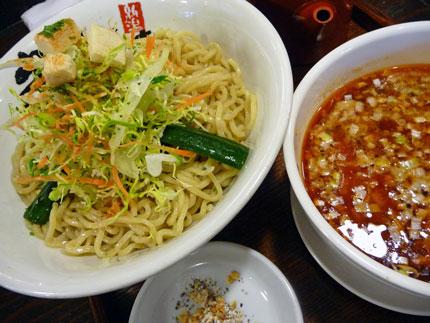 蝦醤つけ麺(シャージャンつけめん)