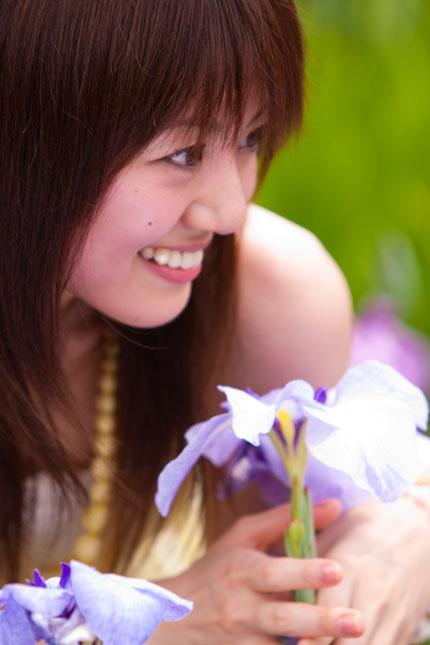 美しい微笑み