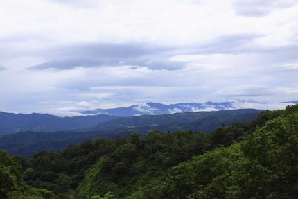 妙高からの風景