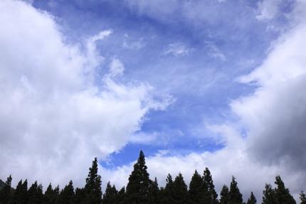 妙高の青空