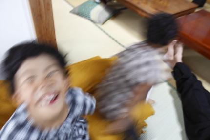 姪っ子達の屈託のない笑顔