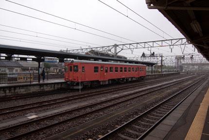 大糸線のディーゼル車