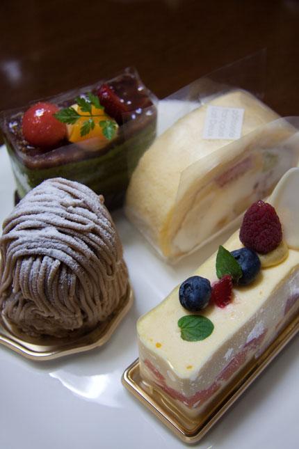ケーキをプレゼント