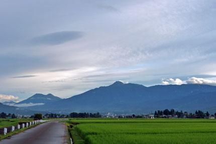 妙高山もすっきり見えた