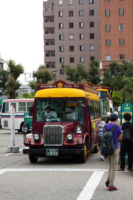 市内観光用のバス