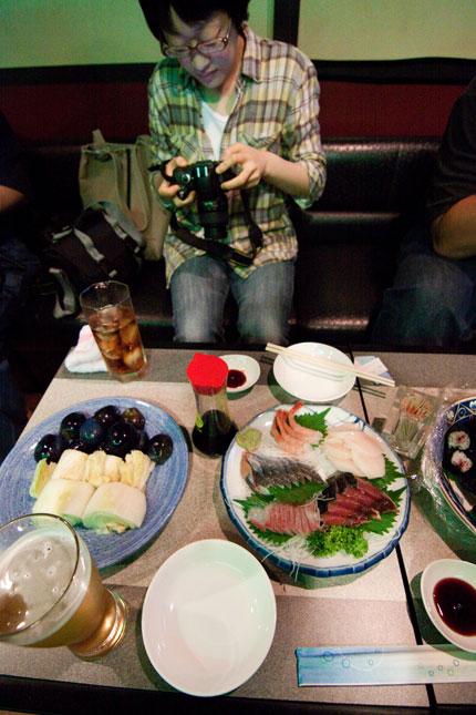 お刺身やお寿司など