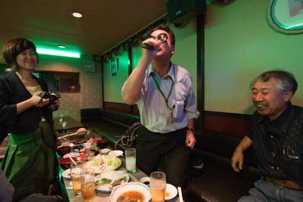加藤先生が一番はしゃいでいました