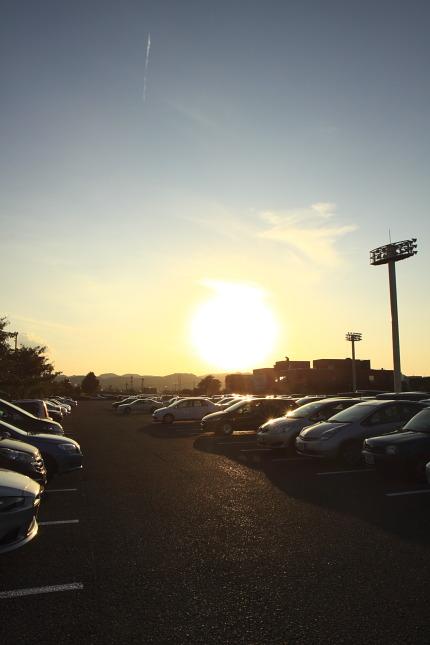 リージョンプラザ上越の駐車場