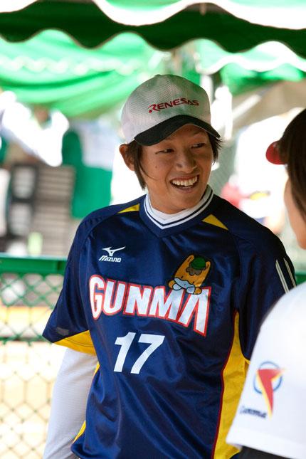 上野由岐子選手
